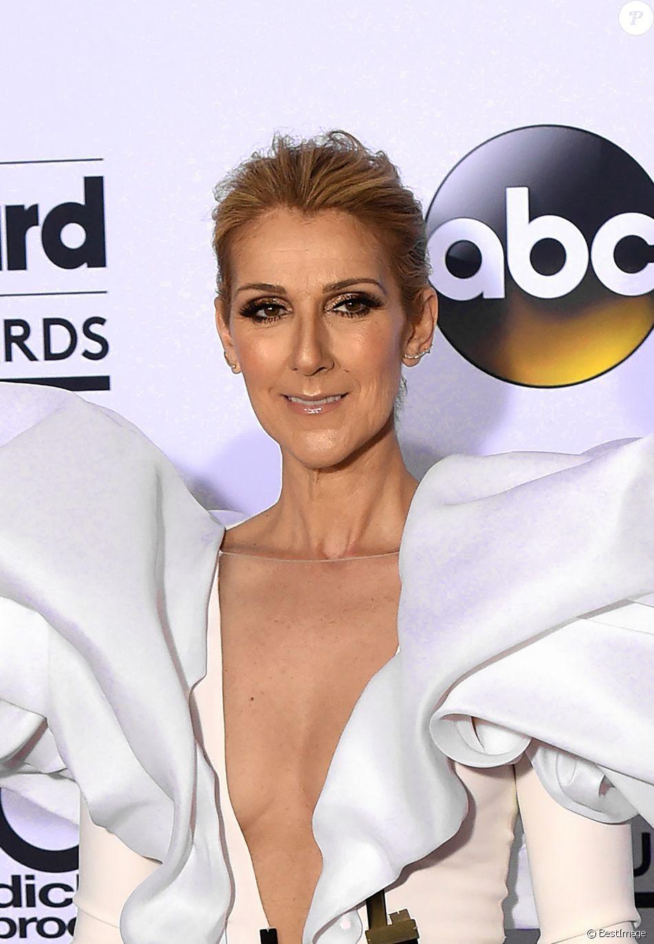 Celine Dion à la soirée Billboard Music Awards à la T-Mobile Arena dans le Nevada, le 21 mai 2017 © Chris Delmas/Bestimage