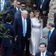 Le président américain Donald Trump et sa femme Mélania Trump au Concert au théâtre grec de Taormine dans le cadre du sommet du G7 en Sicile le 26 mai 2017 © Sébastien Valiela / Bestimage