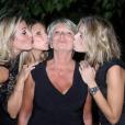 Sylvie Tellier, sa maman et ses soeurs le 28 mai 2017 aux Sables-d'Olonne.
