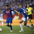 Lionel Messi lors du match du FC Barcelone contre le Deportivo Alavés, à Madrid, le 27 mai 2017.