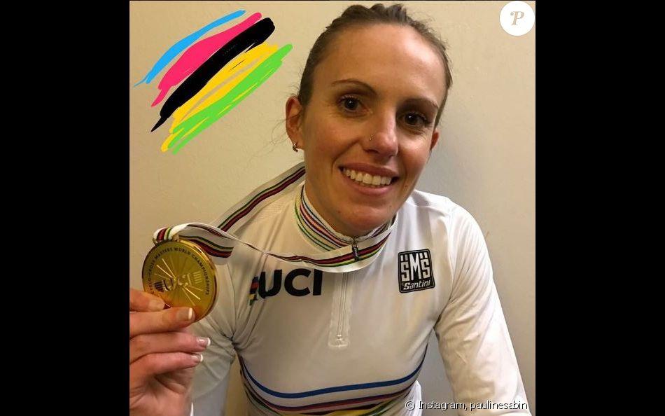 Pauline Sabin-Teyssèdre championne du monde de cyclo-cross.