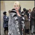 Ivana Trump au défilé Dior (musée Rodin)