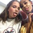 Ariana Grande rend visite à une de ses fans à l'hôpital à Manchester, le 2 juin 2017