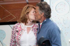 Gérard Holtz et Muriel Mayette : Très amoureux à Roland-Garros