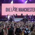 Ariana Grande lors du et Miley Cyrus 'One Love Manchester', concert exceptionnel organisé au profit des familles des victimes à Manchester le 4 juin 2017 © DaveHogan For OneLoveManchester/GoffPhotos.com via Bestimage