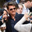 "Tom Cruise arrive au photocall du film ""The Mummy"" au World Square à Sydney, Ausyralie, le 23 mai 2017."