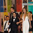 Le créateur Zac Posen et Heidi Klum assistent aux CFDA Fashion Awards 2017 au Hammerstein Ballroom. New York, le 5 juin 2017.