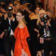 Olivia Palermo assiste aux CFDA Fashion Awards 2017 au Hammerstein Ballroom. New York, le 5 juin 2017.