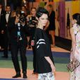 Coco Rocha assiste aux CFDA Fashion Awards 2017 au Hammerstein Ballroom. New York, le 5 juin 2017.