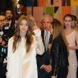 Gigi Hadid assiste aux CFDA Fashion Awards 2017 au Hammerstein Ballroom. New York, le 5 juin 2017.