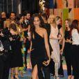 Joan Smalls assiste aux CFDA Fashion Awards 2017 au Hammerstein Ballroom. New York, le 5 juin 2017.