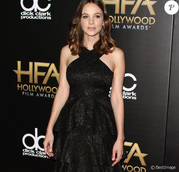 Carey Mulligan - 19e cérémonie annuelle des Hollywood Film Awards au Beverly Hilton Hotel à Beverly Hills, le 1er novembre 2015.