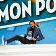 """Cyril Hanouna dans """"Touche pas à mon poste"""" (TPMP) à Paris, France, le 15 septembre 2016. © JLPPA/Bestimage"""