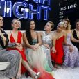 "Paul Downs, Ilana Glazer, Kate McKinnonn, Demi Moore, Scarlett Johansson, Zoë Kravitz, Jillian Bell et Lucia Aniello - Première du film ""Rough Night"" au théâtre AMC Lincoln Square à New York City, New York, Etats-Unis, le 12 juin 2017.  Celebs attending the ""Rough Night"" premiere presented by SVEDKA Vodka at AMC Lincoln Square Theater in New York City, NY, USA on June 12, 2017.12/06/2017 - New York"
