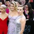 "Zoë Kravitz, Jillian Bell et Scarlett Johansson - Première du film ""Rough Night"" au théâtre AMC Lincoln Square à New York City, New York, Etats-Unis, le 12 juin 2017. © Charles Guerin/Bestimage  Celebs attending the ""Rough Night"" premiere presented by SVEDKA Vodka at AMC Lincoln Square Theater in New York City, NY, USA on June 12, 2017.12/06/2017 -"