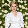 Scarlett Johansson (robe Michael Kors)  - Les célébrités arrivent au Tony award à New York le 11 juin 2017.