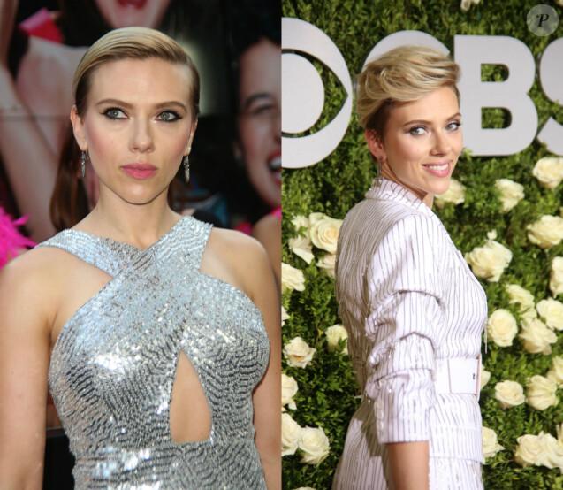 Scarlett Johansson fait le show en Michael Kors à New York, les 12 et 11 juin 2017.