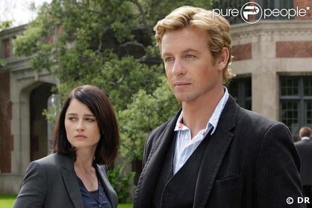The Mentalist -  Teresa Libson (Robin Tunney) et Patrick Jane (Simon Baker)