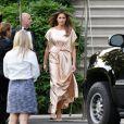 La première dame des Etats-Unis Melania Trump (robe Monique Lhuillier) et son mari le président des Etats-Unis assistent au gala annuel caritatif du théâtre Ford, lieu historique où le président Abraham Lincoln a été assassiné, à Washington, le 4 juin 2017.