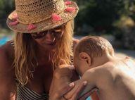 Ingrid Chauvin : Pause tendresse avec Tom, en plein tournage pour TF1