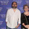 Lotfi Bahmed, Marie Sauvion - Photocall lors de la cérémonie de clôture du 6ème Champs Elysées Film Festival (CEFF) au cinéma Gaumont Marignan à Paris, France, le 22 juin 2017. © CVS-Veeren/Bestimage