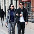 Exclusif - Le couple Katy Perry et Orlando Bloom se promènent en amoureux dans les rues de Aspen. Les amoureux sont venus assister au mariage de leur amie la styliste Jamie Schneider. Le 8 avril 2016