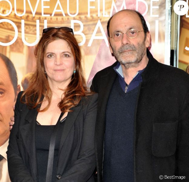 """Agnès Jaoui et Jean-Pierre Bacri lors de l'avant-première du film """"Au bout du conte"""" à Paris le 4 mars 2013"""