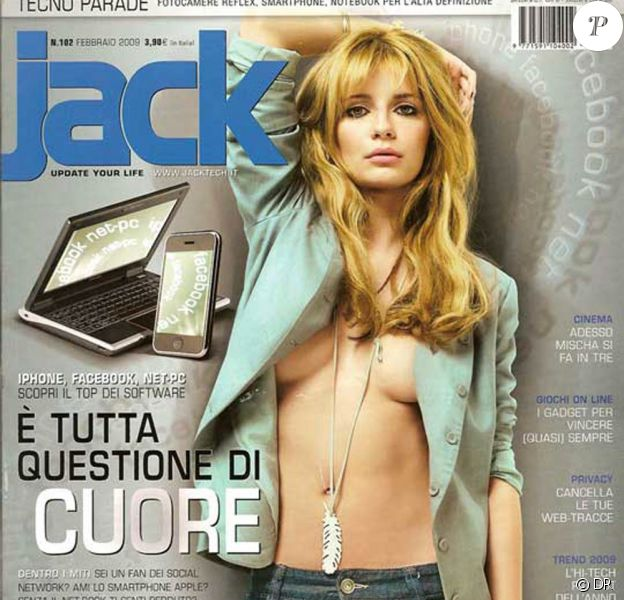 Mischa Barton, coquine pour le magazine Jack