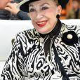 Exclusif - Geneviève de Fontenay - Concours de créateurs de mode à la foire expo de Cherbourg-en-Cotentin sur le thème de l'Irlande dans la Grande Halle de La Cité de la Mer à Cherbourg-en-Cotentin, le 31 octobre 2016.