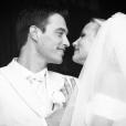 Elodie Gossuin et Bertrand Lacherie, mariés depuis 11 ans. Un cliché datant du 1er juillet 2006.