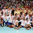 Les Experts du hand français sont champions du monde après avoir décroché l'or olympique
