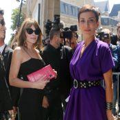 Fashion Week : Carla Bruni et Cristina Cordula applaudissent Jean Paul Gaultier