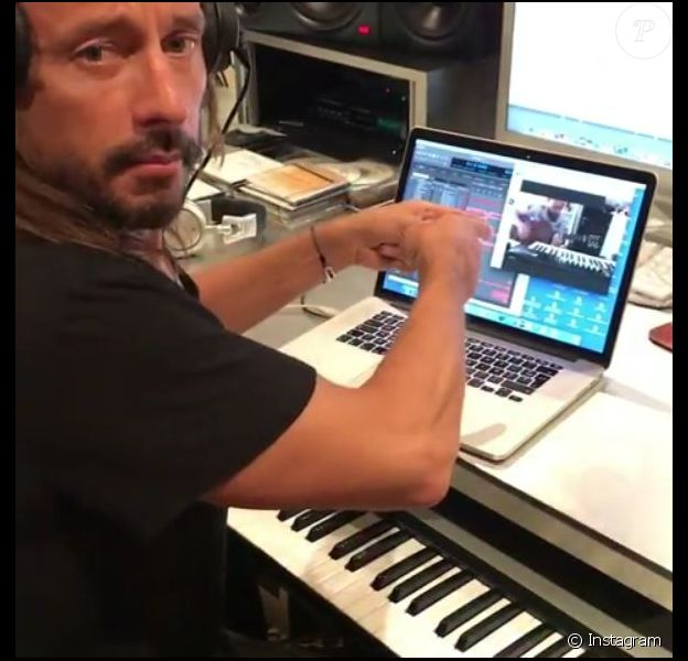 Bob Sinclar s'est fait voler son Mac à Ibiza. Instagram. Juin 2017.