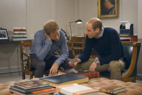 William et Harry parlent de leur mère Diana... L'émouvante vidéo