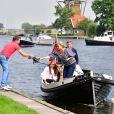 la princesse Alexia, la reine Maxima et le roi Willem-Alexander - Rendez-vous avec la famille royale des Pays-Bas à Warmond le 7 juillet 2017. 07/07/2017 - Warmond