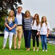La princesse Amalia, le roi Willem-Alexander, la reine Maxima, la princesse Alexia, la princesse Ariane - Rendez-vous avec la famille royale des Pays-Bas à Warmond le 7 juillet 2017. 07/07/2017 - Warmond