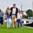 la princesse Alexia, la reine Maxima, La princesse Amalia, le roi Willem-Alexander et la princesse Ariane - Rendez-vous avec la famille royale des Pays-Bas à Warmond le 7 juillet 2017. 07/07/2017 - Warmond