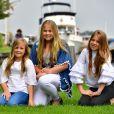 la princesse Ariane, La princesse Amalia, la princesse Alexia - Rendez-vous avec la famille royale des Pays-Bas à Warmond le 7 juillet 2017. 07/07/2017 - Warmond