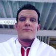Stefán Karl Stefánsson en séance maquillage pour devenir Robbie Rotten, protagoniste de la série Bienvenue à Lazy Town. L'acteur islandais est atteint d'un cancer en phase terminale. © Instagram Stefán Karl Stefánsson