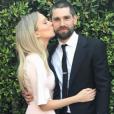 Melissa Ordway et Justin Gaston le 1er juillet 2017