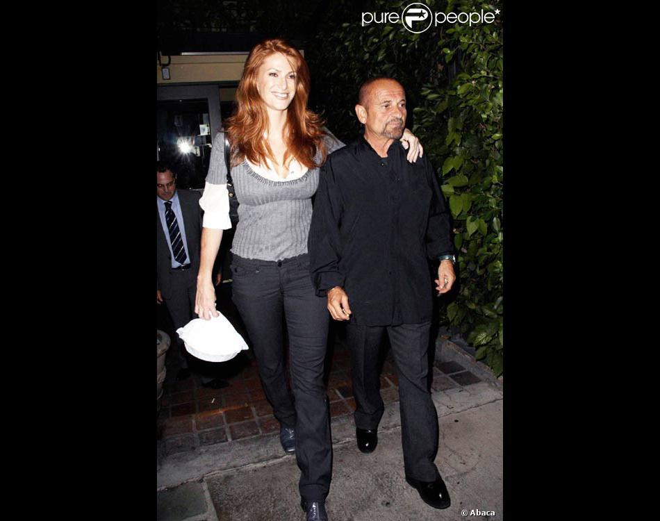 Angie Everhart et son ex, l'acteur Joe Pesci