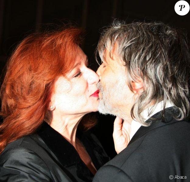 Eva Darlan et son mari Lino à la soirée pour L'enfance Majuscule