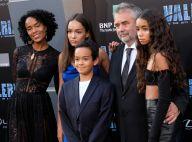 Luc Besson et sa femme Virginie : Tapis rouge avec leurs trois sublimes enfants