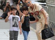 Céline Dion : Complice avec ses jumeaux pour une virée shopping à Paris