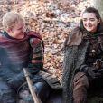 Ed Sheeran (et Maisie Williams) dans les nouveaux épisodes des Game Of Thrones - Photo publiée sur Instagram le 18 juillet 2017