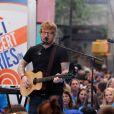 Ed Sheeran lors du Citi Concert Series sur la place du Rockefeller à New York City, New York, Etats-Unis, le 6 juillet 2017.