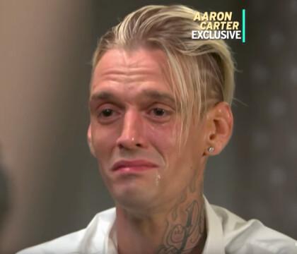 Aaron Carter en larmes : Drogue, alcool... Il dit tout sur son arrestation !