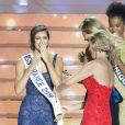 Iris Mittenaere, Miss Nord-Pas-de-Calais élue Miss France 2016 lors du concours organisé à Lille, le 19 décembre 2015.