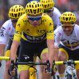 Christopher Froome - Arrivée de la 104ème édition du Tour de France sur les Champs-Elysées à Paris le 23 juillet 2017. © Giancarlo Gorassini/Bestimage