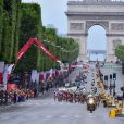 """""""Arrivée de la 104ème édition du Tour de France sur les Champs-Elysées à Paris le 23 juillet 2017. © Giancarlo Gorassini/Bestimage"""""""